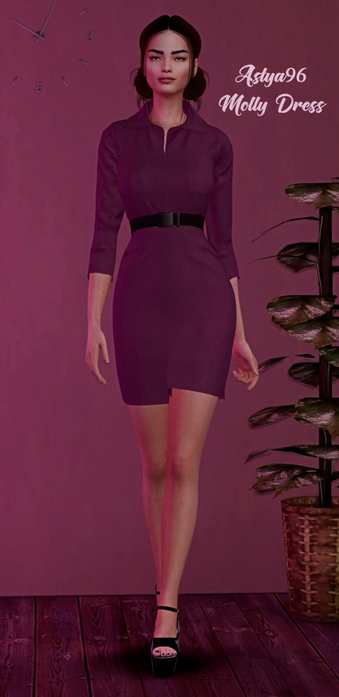 Sims 4 Molly Dress at Astya96