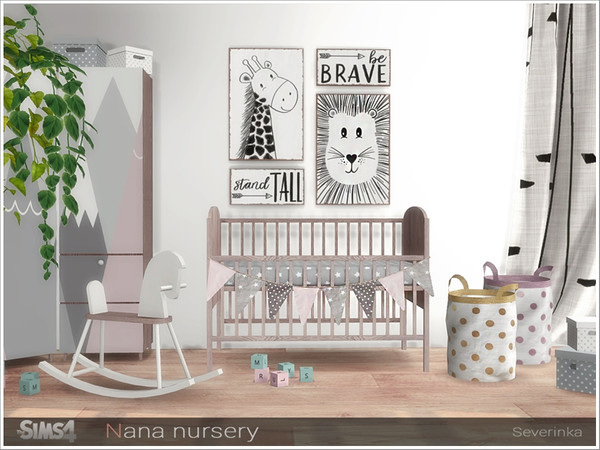 Nana nursery by Severinka at TSR image 13413 Sims 4 Updates