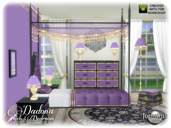 Dadona kids bedroom by jomsims at TSR image 13415 Sims 4 Updates