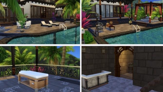 Tropical Villa no CC at Tatyana Name image 1342 670x377 Sims 4 Updates