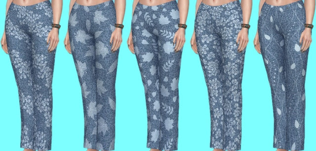 Basegame Jeans Recolors at Annett's Sims 4 Welt image 1344 Sims 4 Updates