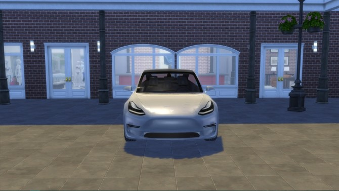 Tesla Model 3 at LorySims image 13451 670x377 Sims 4 Updates