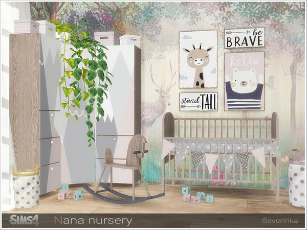 Nana nursery by Severinka at TSR image 13514 Sims 4 Updates