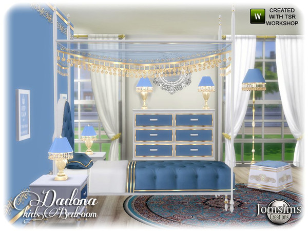 Dadona kids bedroom by jomsims at TSR image 13516 Sims 4 Updates