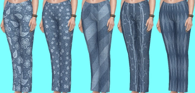 Basegame Jeans Recolors at Annett's Sims 4 Welt image 1354 Sims 4 Updates
