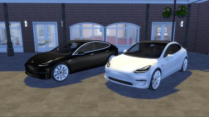Tesla Model 3 at LorySims image 1357 670x377 Sims 4 Updates