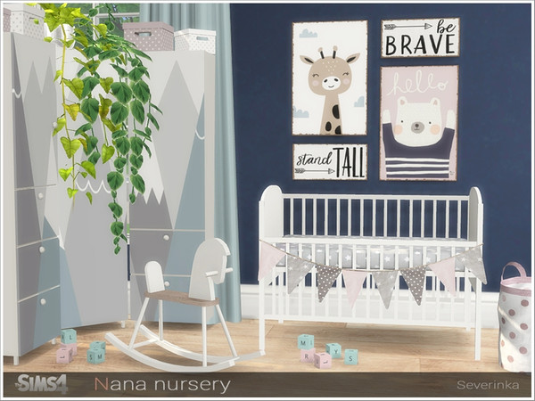Nana nursery by Severinka at TSR image 13613 Sims 4 Updates