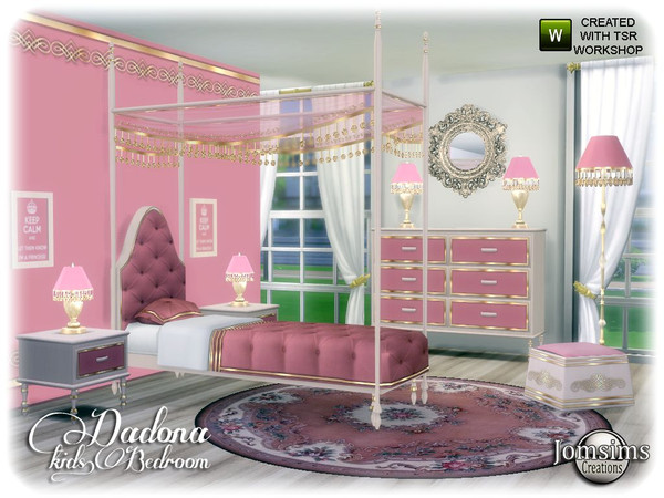 Dadona kids bedroom by jomsims at TSR image 13615 Sims 4 Updates