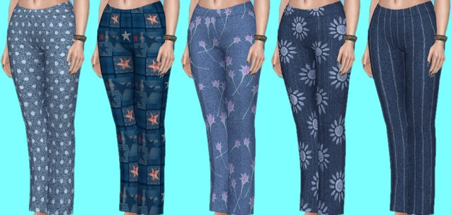 Basegame Jeans Recolors at Annett's Sims 4 Welt image 1364 Sims 4 Updates
