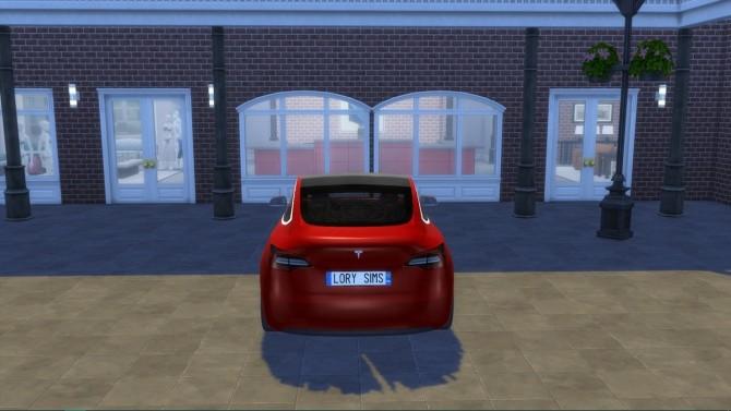 Tesla Model 3 at LorySims image 1366 670x377 Sims 4 Updates