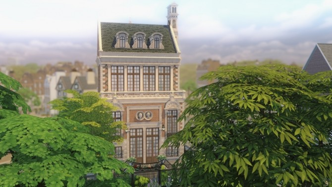 Sims 4 Spring Steppes Townhouse at Harrie