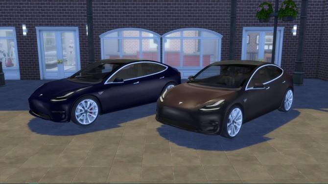 Tesla Model 3 at LorySims image 1377 670x377 Sims 4 Updates
