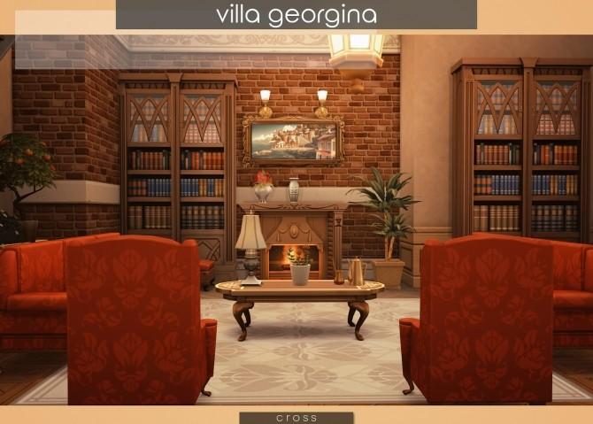 Sims 4 Villa Georgina by Praline at Cross Design