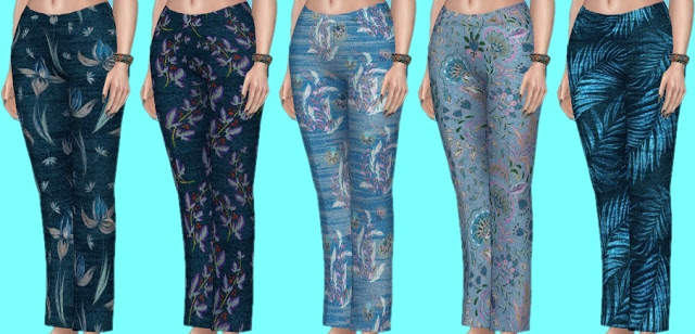 Basegame Jeans Recolors at Annett's Sims 4 Welt image 1384 Sims 4 Updates