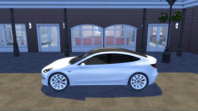 Tesla Model 3 at LorySims image 1387 670x377 Sims 4 Updates