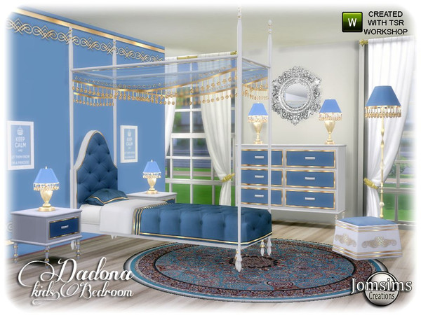 Dadona kids bedroom by jomsims at TSR image 13915 Sims 4 Updates