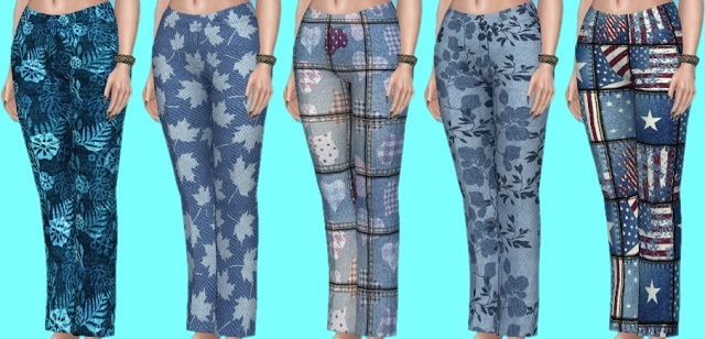 Basegame Jeans Recolors at Annett's Sims 4 Welt image 1394 Sims 4 Updates