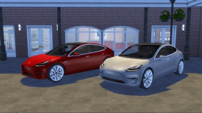 Tesla Model 3 at LorySims image 1396 670x377 Sims 4 Updates