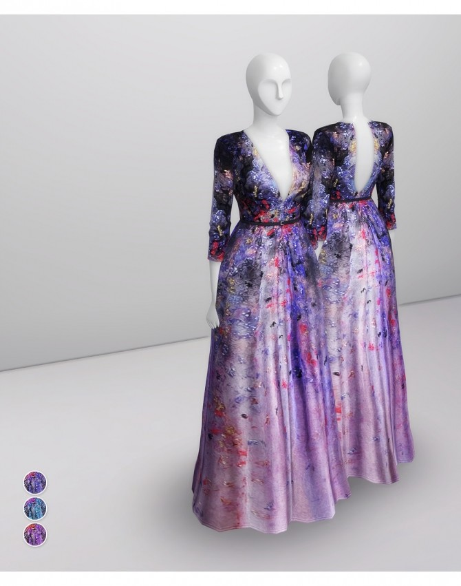 2014 Couture Collection II 1 gown at Rusty Nail image 14122 670x851 Sims 4 Updates