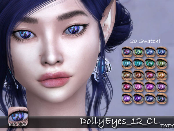 Dolly Eyes 12 by tatygagg at TSR image 1419 Sims 4 Updates