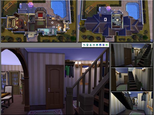 MB Elongated Draft family home by matomibotaki at TSR image 1420 Sims 4 Updates