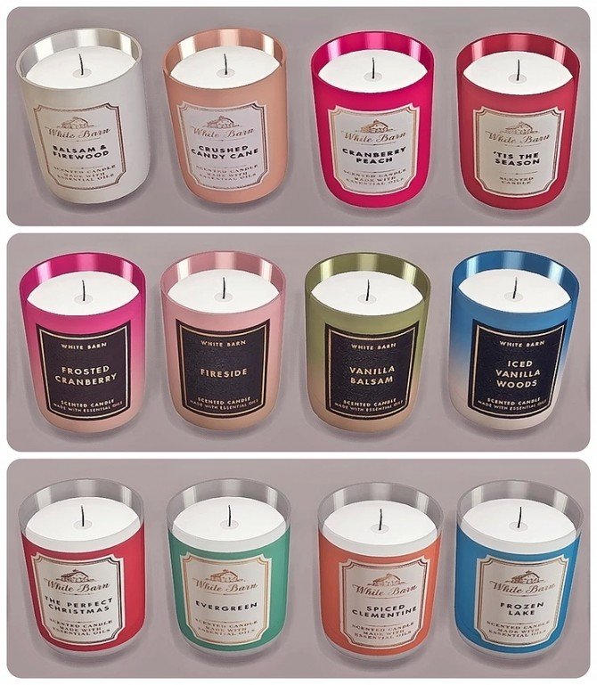 Bath & Body Works Candle Winter Collection by Sooky at Blooming Rosy image 1436 670x769 Sims 4 Updates