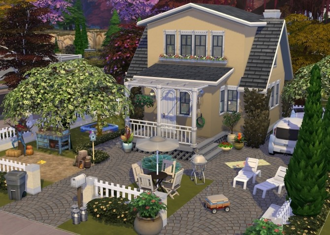 Cozy cottage at Fab Flubs image 145 670x476 Sims 4 Updates