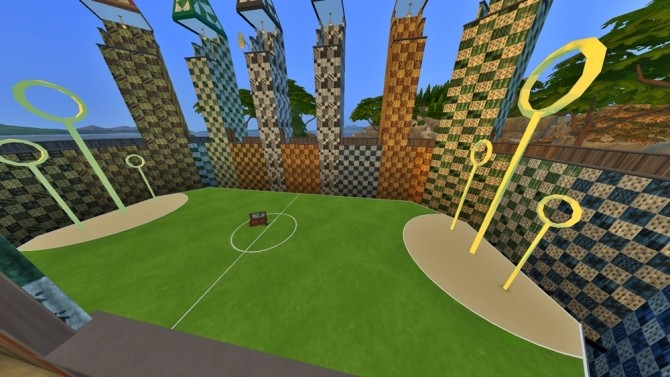 Sims 4 Quidditch Stadium by JH by huso1995 at Mod The Sims