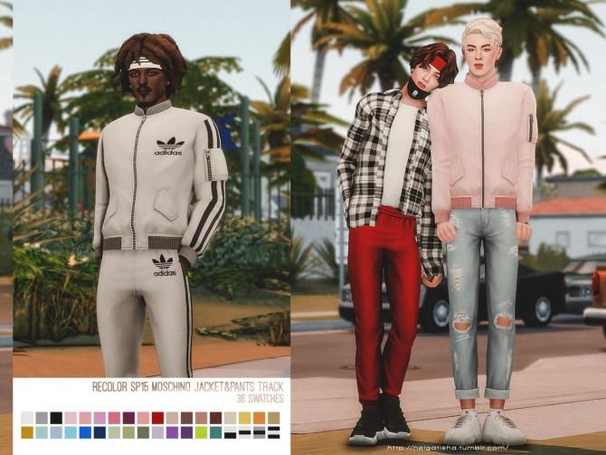 Recolor SP15 Jacket & Pants Track at Helga Tisha image 14514 670x503 Sims 4 Updates