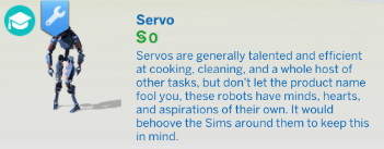 Buyable Servo by Qahne at Mod The Sims image 14613 Sims 4 Updates