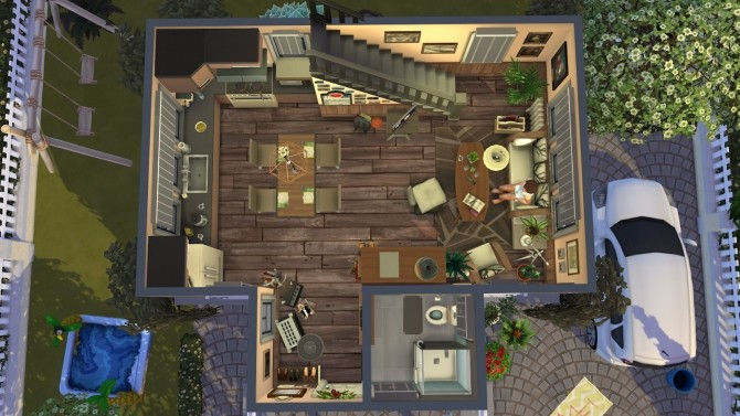 Cozy cottage at Fab Flubs image 147 670x377 Sims 4 Updates