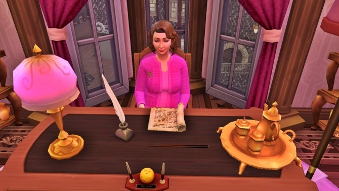 Sims 4 Dolores Umbridge Outfit by JH by huso1995 at Mod The Sims