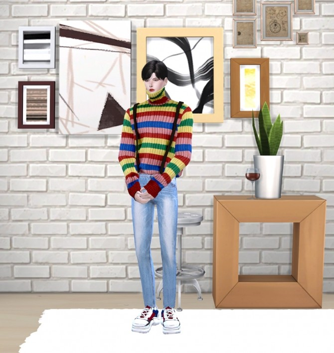 Turtleneck knit top at Chaessi image 14816 670x708 Sims 4 Updates