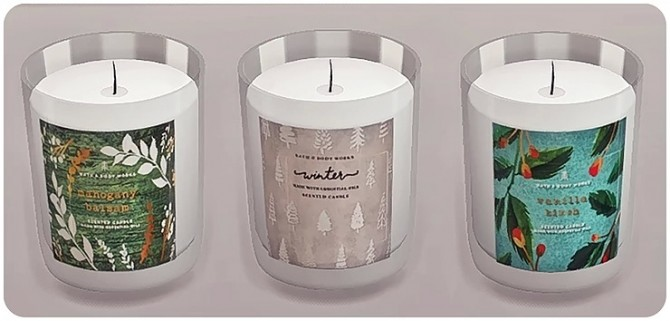 Bath & Body Works Candle Winter Collection by Sooky at Blooming Rosy image 1487 670x321 Sims 4 Updates