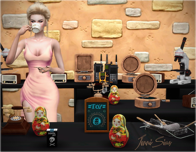 Sims 4 Clutter Decorative 13 Items at Jenni Sims