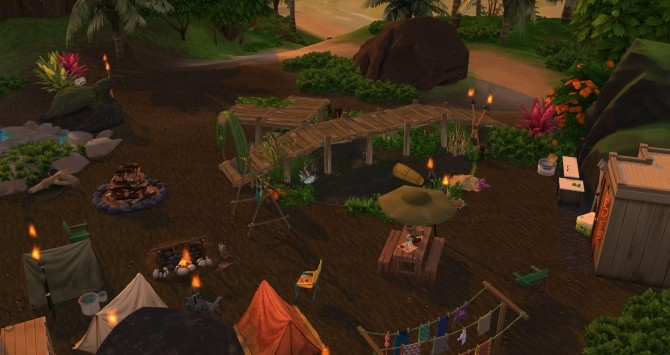 Turtle camp by Coco Simy at L'UniverSims image 1503 670x355 Sims 4 Updates