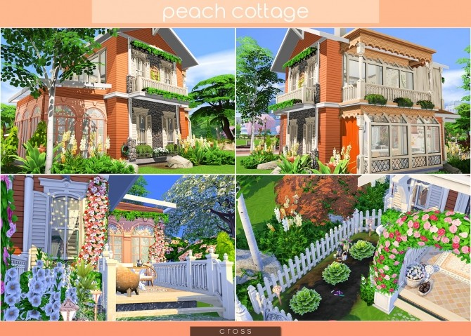 Peach Cottage by Praline at Cross Design image 15111 670x479 Sims 4 Updates