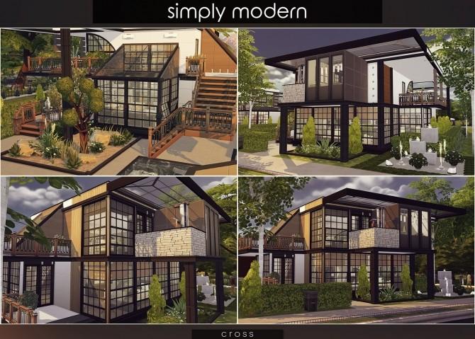 Simply Modern villa by Praline at Cross Design image 15120 670x479 Sims 4 Updates