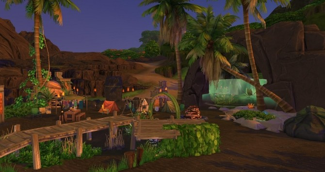 Turtle camp by Coco Simy at L'UniverSims image 1514 670x355 Sims 4 Updates