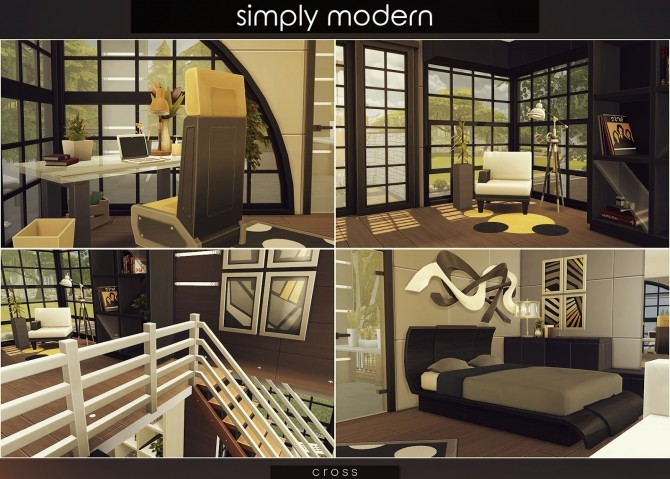 Simply Modern villa by Praline at Cross Design image 15217 670x479 Sims 4 Updates