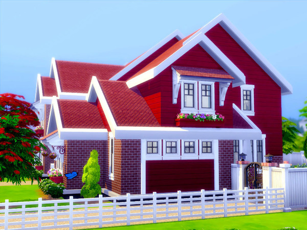 Sims 4 Arusha house by sharon337 at TSR