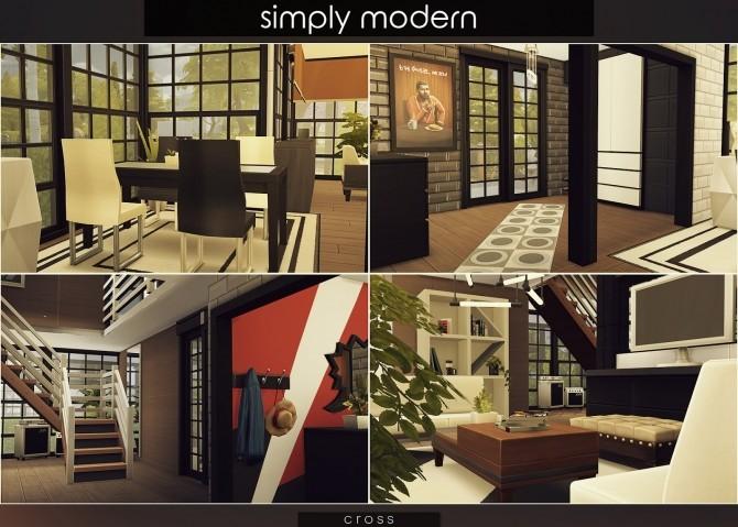 Simply Modern villa by Praline at Cross Design image 15416 670x479 Sims 4 Updates