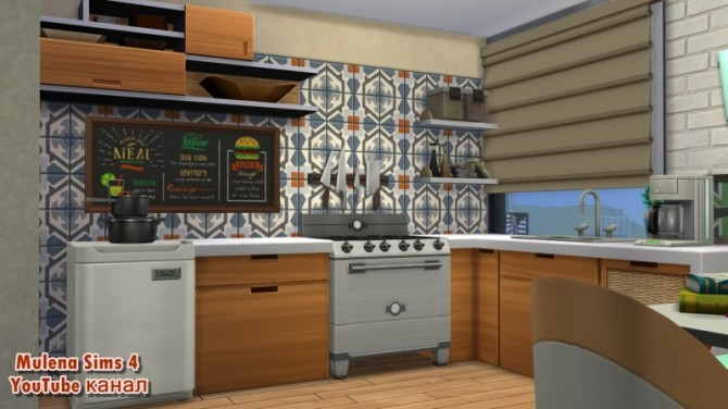 Student apartment at Sims by Mulena image 1549 670x376 Sims 4 Updates