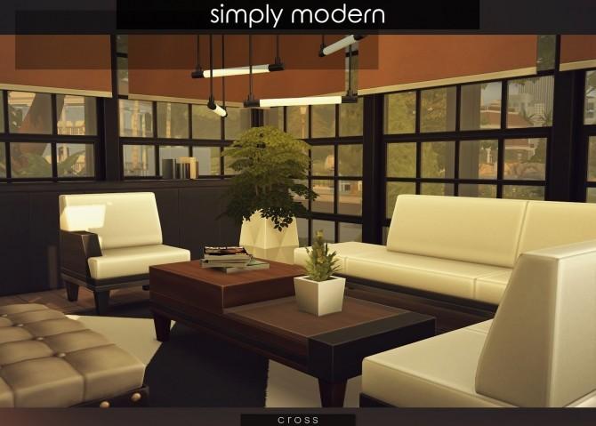 Simply Modern villa by Praline at Cross Design image 15516 670x479 Sims 4 Updates