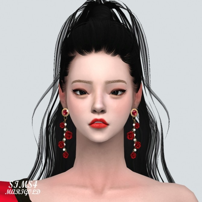 Rose Point Gorgeous Earrings V2 at Marigold image 1555 670x670 Sims 4 Updates