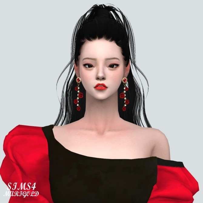 Rose Point Gorgeous Earrings V2 at Marigold image 1565 670x670 Sims 4 Updates