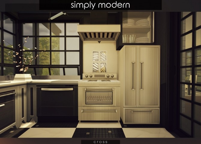 Simply Modern villa by Praline at Cross Design image 15715 670x479 Sims 4 Updates