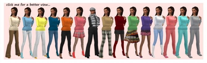 Sims 4 GP02 SWEATER at Sims4Sue