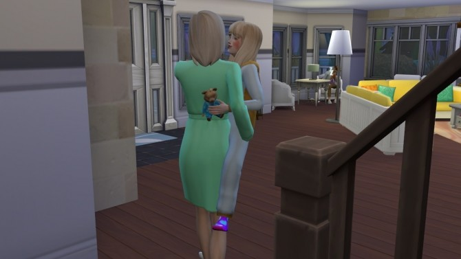 Sims 4 Child can care for Toddlers and Child can be Carried by A MOD by Sofmc9 at Mod The Sims
