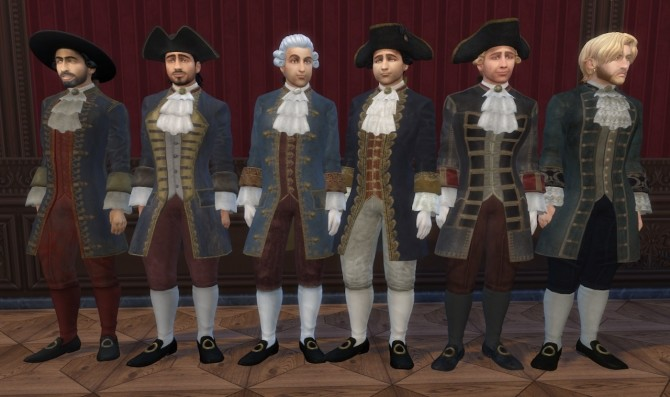 Various 18th Century male outfits by Nutter Butter 1 at Mod The Sims image 16013 670x397 Sims 4 Updates